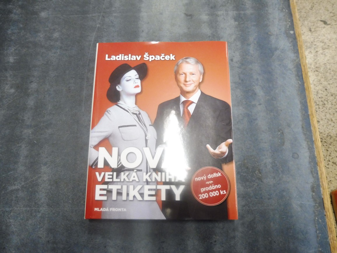 78e5c9e2d Špaček Ladislav - Nová velká kniha etikety - Antikvariát Dana Kurovce